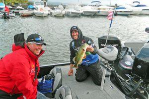 Ott DeFoe e Mark Curry Bolsena Italia Bass Open