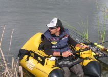 Max Mughini in Belly boat