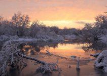 Lago in inverno