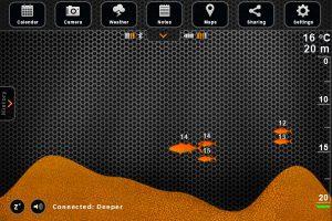 Deeper interfaccia app