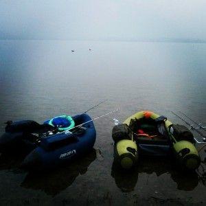 belly boat lago di pusiano