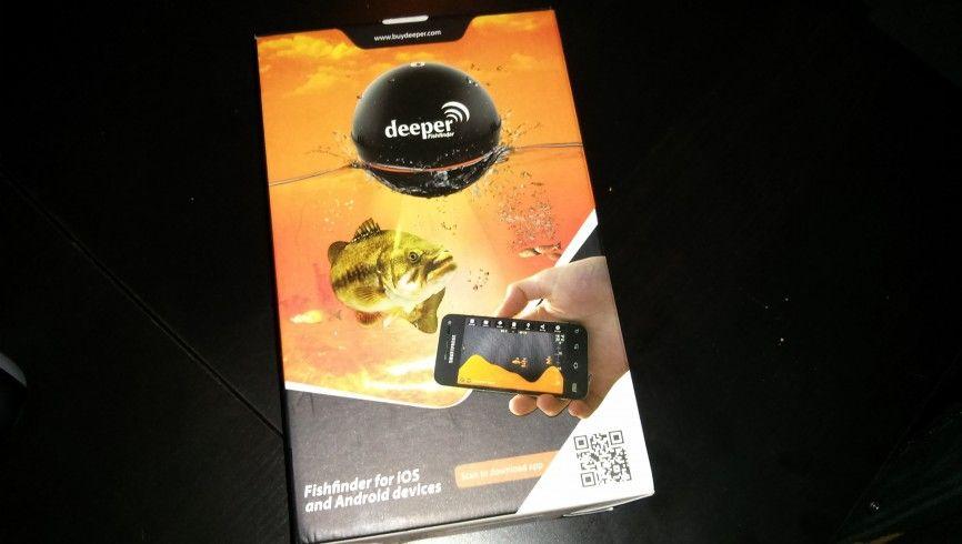 Packaging Deeper smart fishifinder