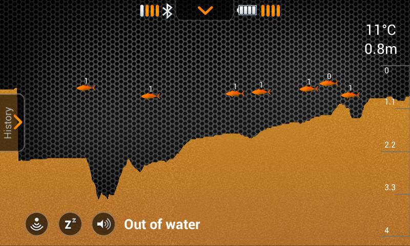 Screenshot fishfinder