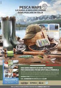 Pesca Maps. Guida ai migliori spot italiani