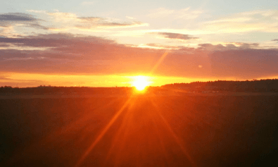 tramonto-in-lapponia