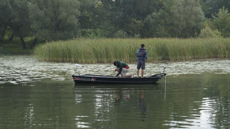 Matteo e Daniele in pesca