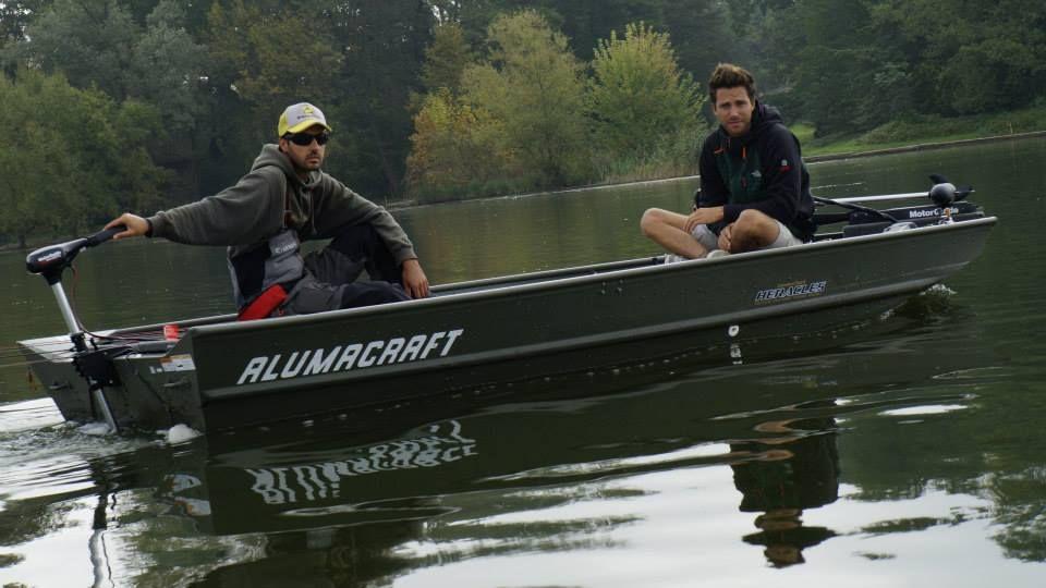 Larry e Tony in pesca