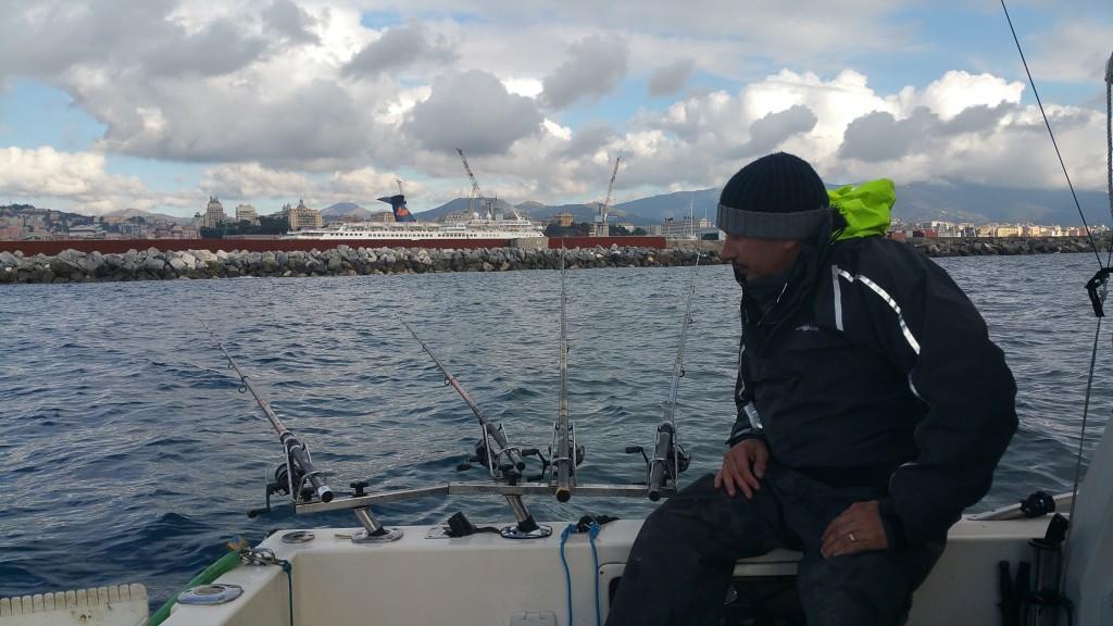 Pescando a light drifting