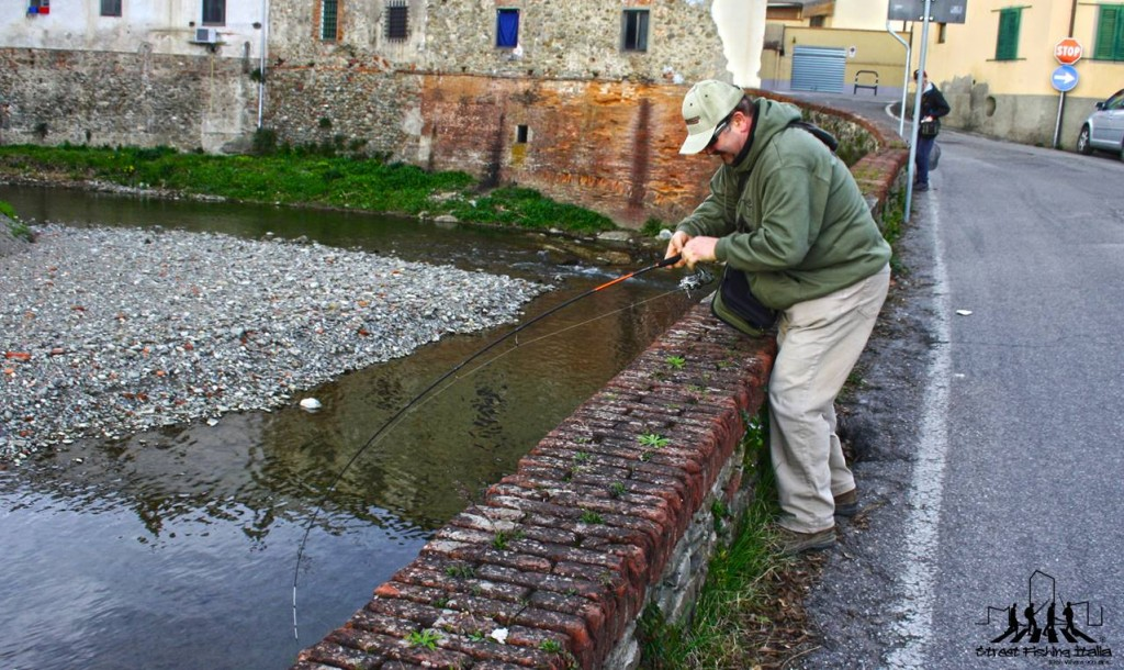 Street Fishing a Pistoia