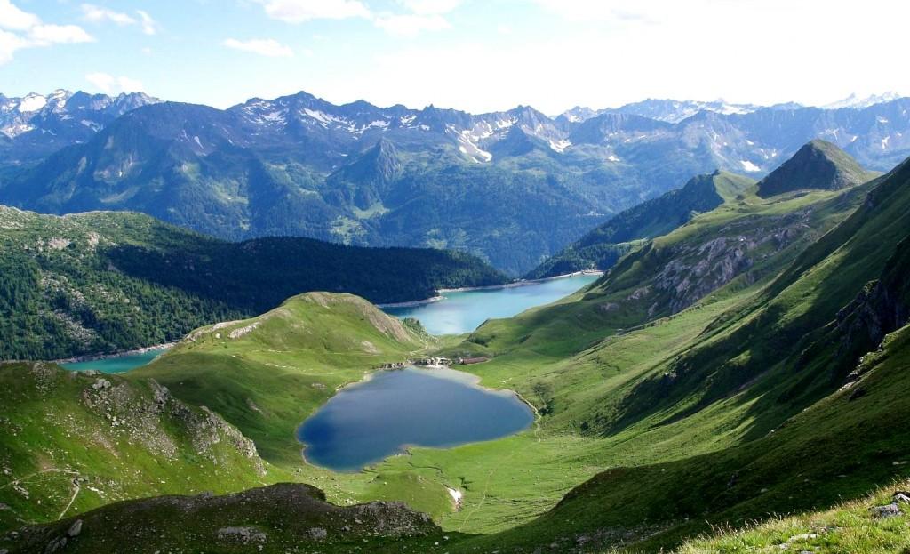 Laghi alpini svizzeri Ritom