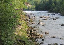 gara pesca alla trota in torrente