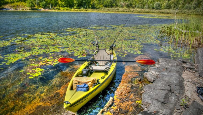 Pesca in kayak ovunque