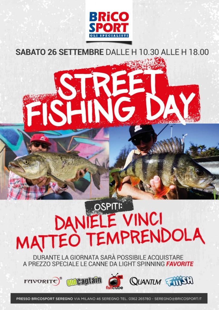 evento street fishing brico sport