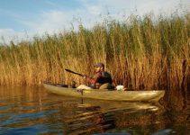 Pesca in kayak