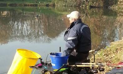 Stefano in pesca