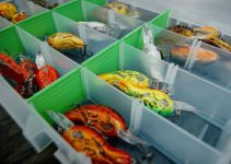 Crankbait tackle box